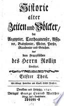 Histoire Alter Seiten und Volcker