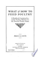 What and how to Feed Poultry