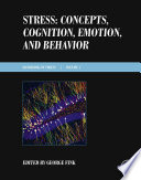 Stress  Concepts  Cognition  Emotion  and Behavior