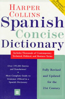 Harper Collins Spanish Dictionary