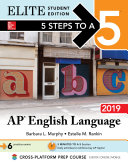 5 Steps to a 5: AP English Language 2019 Elite Student edition