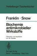 Biochemie antimikrobieller Wirkstoffe