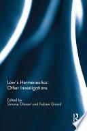 Law s Hermeneutics
