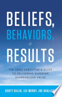 Beliefs  Behaviors  and Results
