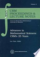 illustration du livre Advances in Mathematical Sciences: CRM's 25 Years