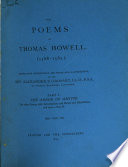 Occasional Issues of Unique Or Very Rare Books