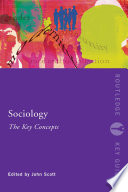 Sociology  The Key Concepts