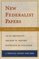 New Federalist Papers