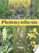 Handbook of Photosynthesis  Third Edition