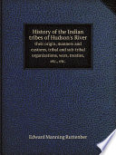 History of the Indian tribes of Hudson's River