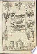 Kräuterbuch Erdgewächs Destillierbuch