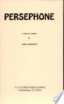 Persephone Book PDF