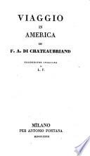 Viaggio in America  Traduzione italiana di L  F