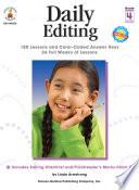Daily Editing  Grade 4