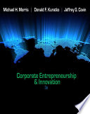 Corporate Entrepreneurship   Innovation