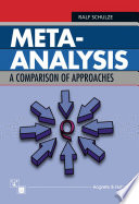 Meta Analysis A Comparison Of Approaches