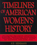 Timelines of American Women s History