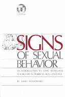 Signs of Sexual Behavior