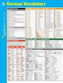 German Vocabulary Sparkcharts