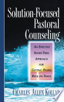Solution Focused Pastoral Counseling Book PDF