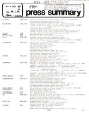 Press Summary   Illinois Information Service