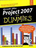 Ms Office Project 2007 For Dummies