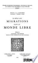 Le rôle des migrations dans le monde libre