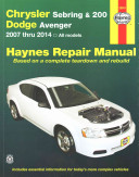 Chrysler Sebring   200 and Dodge Avenger