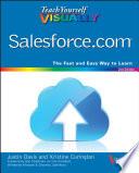 Teach Yourself VISUALLY Salesforce com