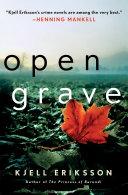Open Grave Kjell Eriksson Has American Critics