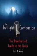 The Twilight Companion Book