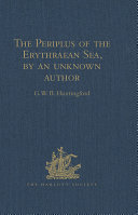 download ebook the periplus of the erythraean sea, by an unknown author pdf epub