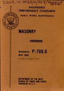Masonry Handbook