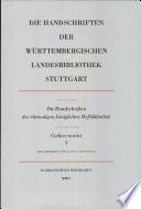 Codices musici. 3. (HB XVII 481 - 946)