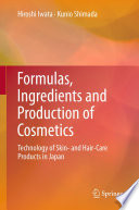 Formulas  Ingredients and Production of Cosmetics