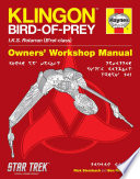 download ebook star trek: klingon bird-of-prey haynes manual pdf epub