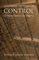 Colonial Systems of Control