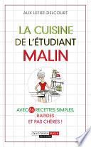 La cuisine de l'étudiant malin