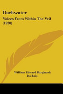 Ebook Darkwater: Voices from Within the Veil (1920) Epub W. E. B. Du Bois Apps Read Mobile