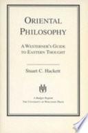 Oriental Philosophy