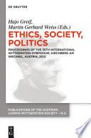 Ethics Society Politics