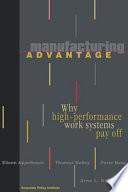 Manufacturing Advantage
