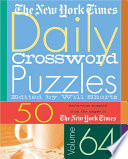 The New York Times Daily Crossword Puzzles Volume 64