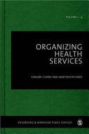 Organizing Health Services