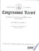 Congressional Record, V. 152, PT. 17, November 9, 2006 to December 6, 2006