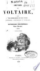 Oeuvres de Voltaire avec des remarques et des notes historiques  scientifiques et litt  raires