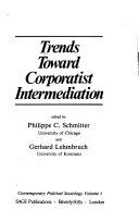 Trends Towards Corporatist Intermediation