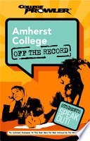 Amherst College College Prowler Off the Record