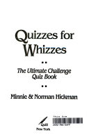 Quizzes for Whizzes