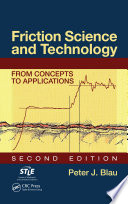 Friction Science and Technology
